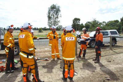 Chainsaw training course